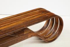 ndio da Costa Contemporary Infinito Wood Bench by Guto ndio da Costa Brazil 2019 - 2044684