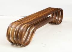 ndio da Costa Contemporary Infinito Wood Bench by Guto ndio da Costa Brazil 2019 - 2044685