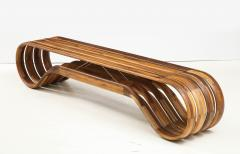 ndio da Costa Contemporary Infinito Wood Bench by Guto ndio da Costa Brazil 2019 - 2044686