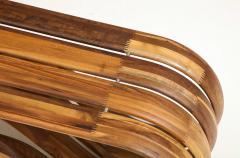 ndio da Costa Contemporary Infinito Wood Bench by Guto ndio da Costa Brazil 2019 - 2044690