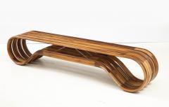 ndio da Costa Contemporary Infinito Wood Bench by Guto ndio da Costa Brazil 2019 - 2044691