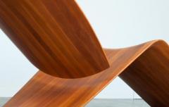 ndio da Costa Contemporary Jequitib Wood Chaise Longue by Brazilian Designer - 1222324