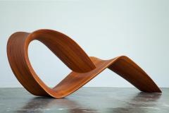 ndio da Costa Contemporary Jequitib Wood Chaise Longue by Brazilian Designer - 1222327