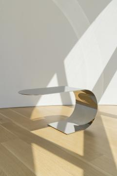 nea studio Cantilever Table polished stainless steel - 1567974