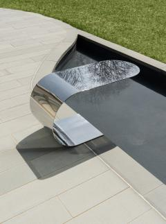 nea studio Cantilever Table polished stainless steel - 1567978