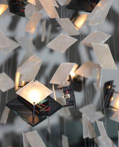 nea studio Solar Chandelier White - 1533047