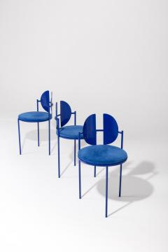 ngel Mombiedro Sculptural Dining Table and Chairs Ensemble by ngel Mombiedro - 1413687
