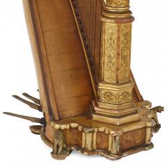 rard Antique Gothic Revival harp by Erard - 2022753