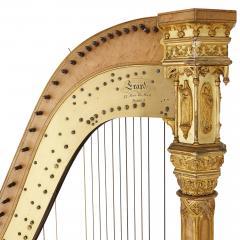 rard Antique Gothic Revival harp by Erard - 2022754