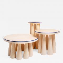 studiointervallo Bogdan set of three coffee tables - 1965801