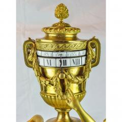 tienne Maurice Falconetv A Fine Louis XVI Style Gilt Bronze and White Marble Mantel Clock - 2034458