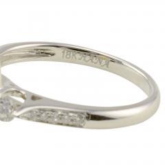 0 95 Carat Marquise Diamond 18K White Gold Ring Size 6 5 - 1978732