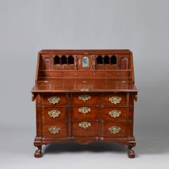 Chippendale Block Front Slant Top Desk c 1760 1780 - 6542