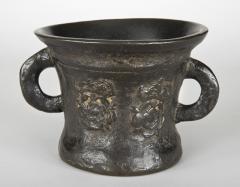 17th Century English Mortar England c 1660 85 - 12620