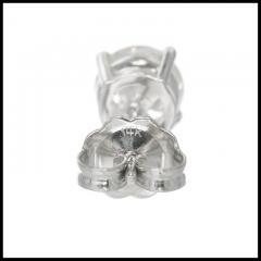1 46 Carat Diamond White Gold Stud Earrings - 717250
