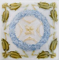 1 of the 90 French Art Deco Tiles circa 1930 - 1298944
