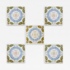 1 of the 90 French Art Deco Tiles circa 1930 - 1307436