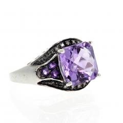 10 Carat Amethyst and Diamond Ring - 1866571