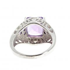 10 Carat Amethyst and Diamond Ring - 1866572