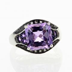 10 Carat Amethyst and Diamond Ring - 1866574