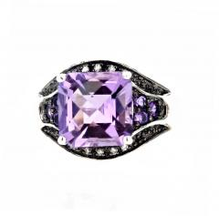 10 Carat Amethyst and Diamond Ring - 1866575