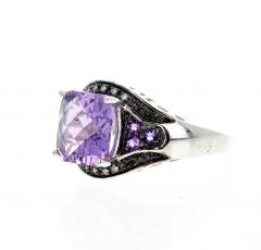 10 Carat Amethyst and Diamond Ring - 1866581
