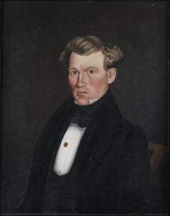 Milton W Hopkins Portrait of a Young Man c 1835 - 9464