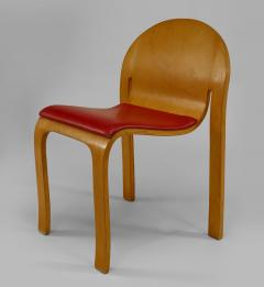 12 American Mid Century Modern 1960s Plywood Side Chairs - 424829