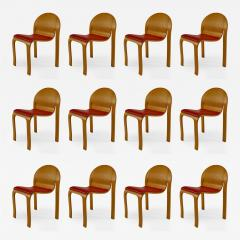 12 American Mid Century Modern 1960s Plywood Side Chairs - 425549