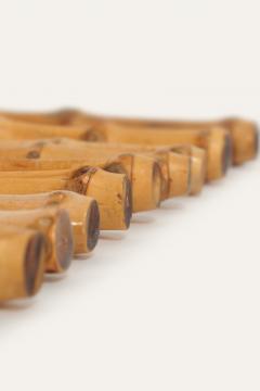 12 Swiss Fondue Forks 50s - 1638588