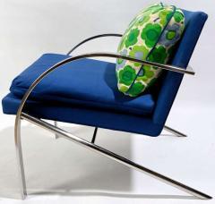 Pair All Original Arco Club Chairs By Paul Tuttle 1918 2002 c 1960s - 13884