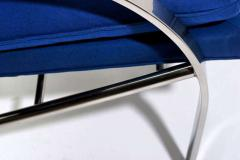 Pair All Original Arco Club Chairs By Paul Tuttle 1918 2002 c 1960s - 13889