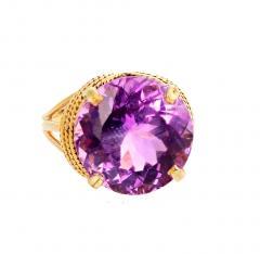 14 51 Carat Natural Kunzite Gold Ring - 1865984