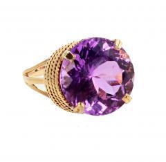 14 51 Carat Natural Kunzite Gold Ring - 1865988
