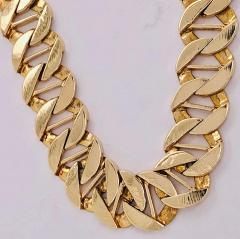 14 Karat Yellow Gold Fancy Link Necklace - 1240861