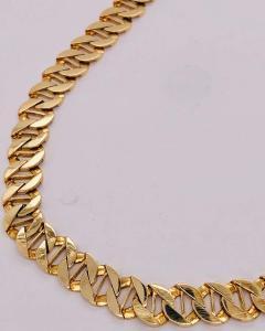 14 Karat Yellow Gold Fancy Link Necklace - 1240862