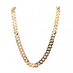 14 Karat Yellow Gold Fancy Link Necklace - 1242681