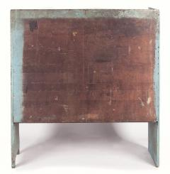 Pair of Robins Egg Blue Painted Benches from a Portico on an 1890s Home - 14906