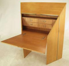Rare Jay Spectre Perceptive Drop Front Desk circa 1980s - 14976