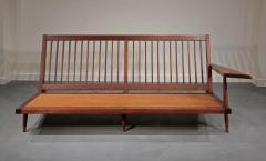George Nakashima Left and Right Free Form Arm Sofas c 1955 - 16433
