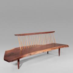 George Nakashima Conoid Bench 1966 - 16449