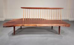 George Nakashima Conoid Bench 1966 - 16450