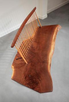 George Nakashima Conoid Bench 1966 - 16451