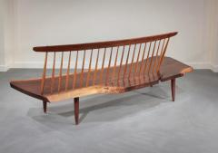 George Nakashima Conoid Bench 1966 - 16452