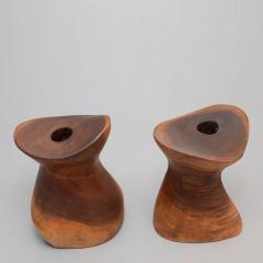Emil Milan Pair of Candlesticks by Emil Milan ca 1960 - 16623