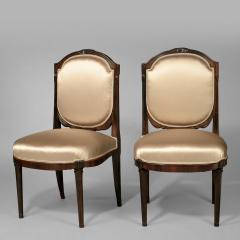 Paul Follot Pair of Paul Follot Side Chairs c 1920 - 17078