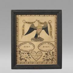 Adams Family Record Probably Massachusetts ca 1804 - 18854
