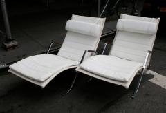Preben Fabricius Pair of Grasshopper Lounge Chairs Preben Fabricius and Jorgen Kastholm - 19065