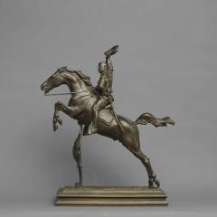 Frederick W MacMonnies Theodore Roosevelt on Horseback The Rough Rider  - 19501