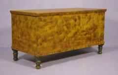 Lancaster County Penn Blanket Chest Chrome Yellow with Smoke Decoration - 20487